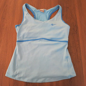 M Blue Nike Dry Fit Training Tank Like New
